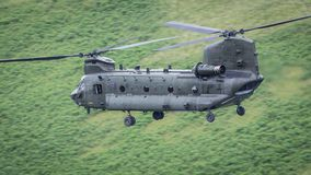 Hélicoptère de RAF Chinook image libre de droits