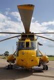 Hélicoptère de RAF Seaking Image libre de droits
