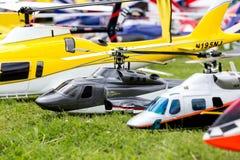 Hélicoptère de RC Photo stock