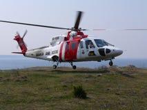Hélicoptère de recherche et de sauvetage Image libre de droits