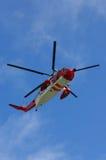 Hélicoptère de sauvetage Photo libre de droits