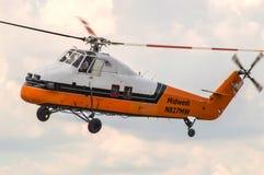 Hélicoptère de Sikorsky S-58JT Photo stock