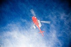 Hélicoptère de ski de Heli images stock