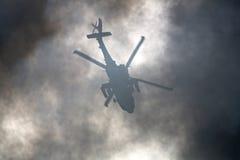Hélicoptère de Warzone images stock