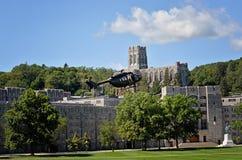 Hélicoptère de West Point images stock