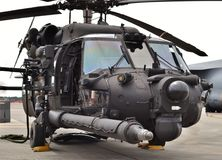 Hélicoptère des forces spéciales MH-60 Blackhawk Photo libre de droits