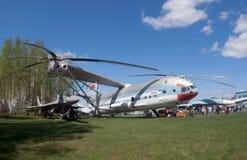 Hélicoptère du mil V-12 Photo libre de droits