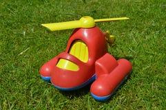 Hélicoptère en plastique Image libre de droits