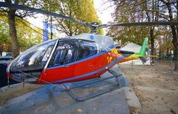 Hélicoptère français images libres de droits
