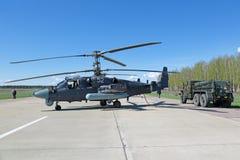Hélicoptère Ka-52 Photos stock