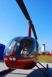 Hélicoptère léger Images stock