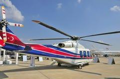Hélicoptère léger pour l'usage privé Image stock
