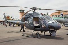 Hélicoptère marocain royal de la gendarmerie AS355 Ecureuil Photo stock