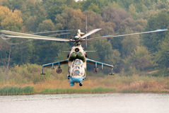 Hélicoptère Mi-24 Photographie stock libre de droits