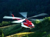 Hélicoptère Mi-8 Photographie stock libre de droits