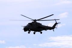 Hélicoptère MI24 Photo libre de droits