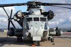 Hélicoptère militaire Photo libre de droits