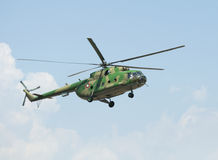 Hélicoptère militaire photos stock
