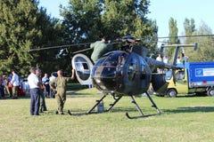 Hélicoptère militaire Photographie stock