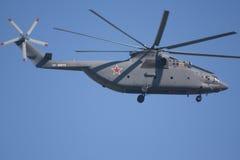 Hélicoptère militaire Images libres de droits