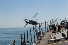 Hélicoptère militaire Photographie stock libre de droits