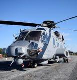 Hélicoptère militaire lourd Image stock