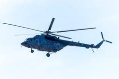 Hélicoptère militaire russe soviétique de MI 8 Image libre de droits