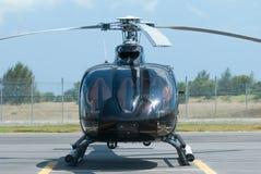 Hélicoptère noir Images stock