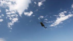 Hélicoptère roumain banque de vidéos