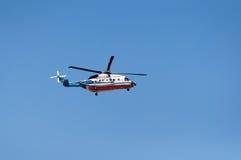 Hélicoptère S-76 Images libres de droits