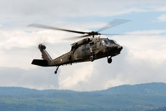 Hélicoptère S-70 Blackhawk Images libres de droits