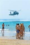 Hélicoptère SH-60B Seahawk Photo stock