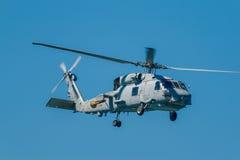 Hélicoptère SH-60B Seahawk Photos libres de droits