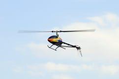 Hélicoptère télécommandé de RC Image stock