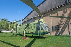 Hélicoptère Yak-24 image libre de droits