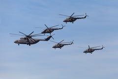 Hélicoptères Images libres de droits