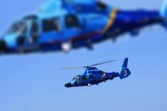 Hélicoptères Image libre de droits
