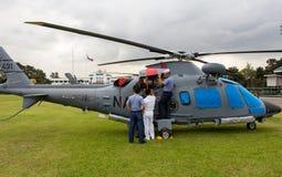 Hélicoptères de combat Photo stock