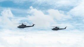 Hélicoptères de l'armée canadienne Photo stock