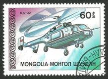 Hélicoptères, ka 32 Image libre de droits