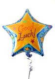 Hélio festivo um balão enchido com Imagem de Stock