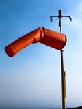 Héliport segnaletic de chaussette de vent Image libre de droits