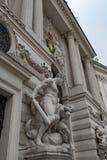 Hércules y la correa del Amazonas Hippolyta, Hofburg, Viena Foto de archivo libre de regalías