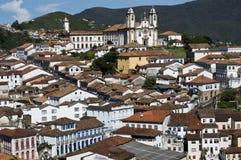 Héritage baroque brésilien d'architecture images stock