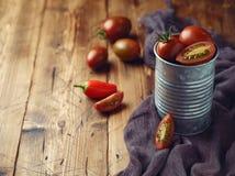 Héritage Cherry Tomatoes image libre de droits