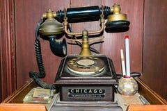 Héritage classique de téléphone Photographie stock libre de droits