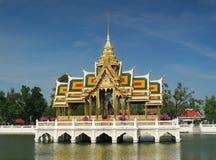 héritage d'architecture thaï Photos stock