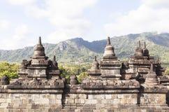 Héritage de Borobudur à Yogyakarta, Indonésie Image libre de droits