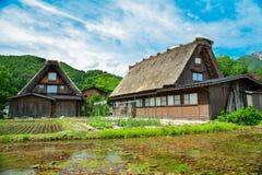 Héritage de Shirakawa Photographie stock