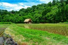 Héritage de Shirakawa Photo libre de droits